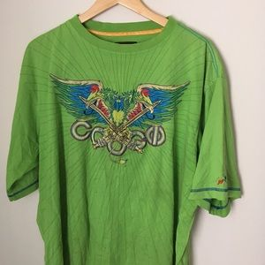 COOGI Shirts - Lime green coogi tee